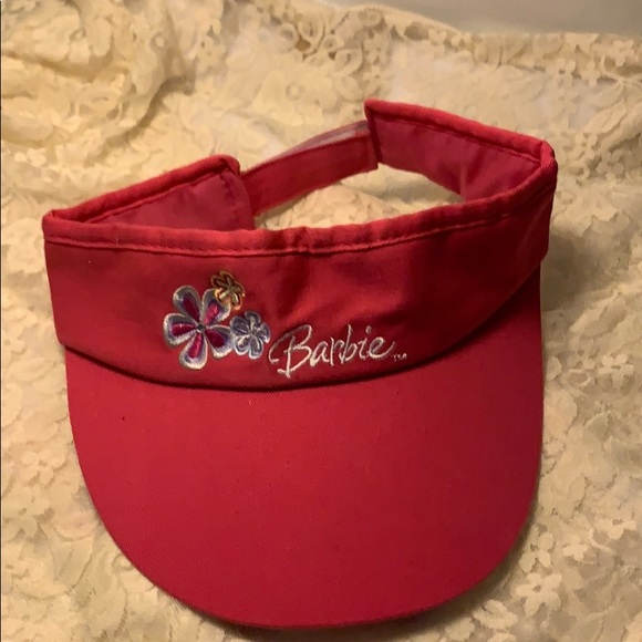 Other - Barbie Visor Youth Pre Owned